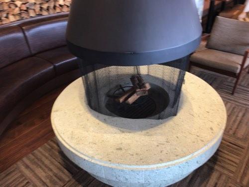 琵琶湖テラス 暖炉