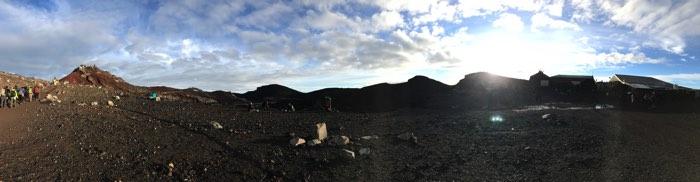 富士山山頂 お鉢めぐり