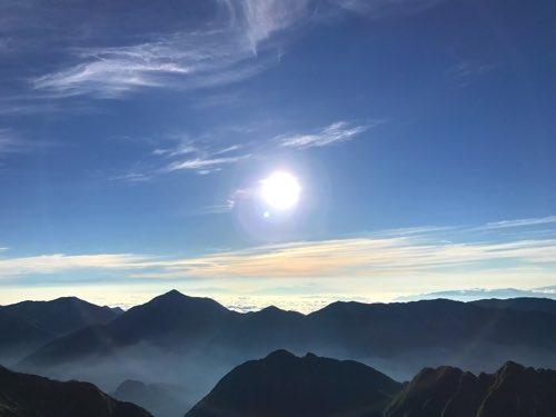 奥穂高山荘 景色