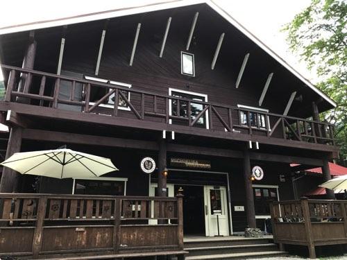 奥穂高岳登山ルート 徳沢