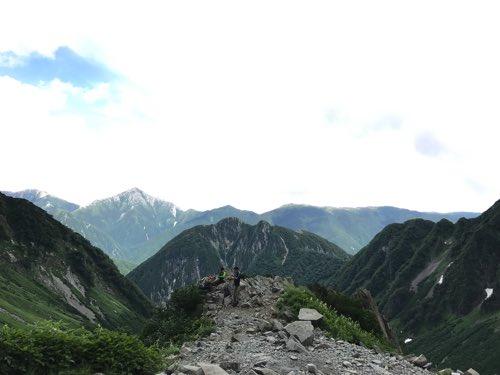 奥穂高岳 ザイテングラード