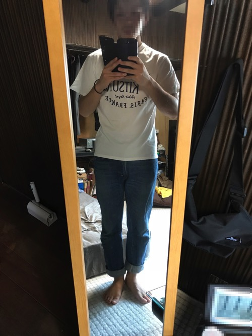 メゾンキツネ Tシャツ サイズ感