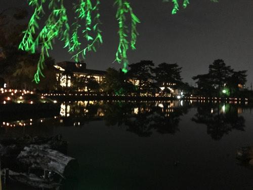 燈花会 猿沢池